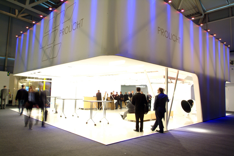 Exhibition Stand Lighting Game : Imgang trade fair stand prolicht